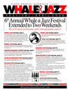 Sixth Annual Whale & Jazz Festival program