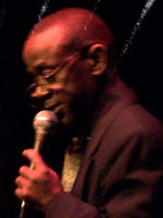 Kenny Washington at the 2005 Whale & Jazz Festival