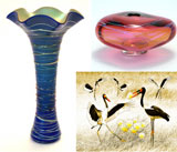 Fred Cresswell & Leslie Moody (art glass); Jeanne Gadol (photography)