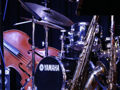 Jazz at the Gualala Arts Center; photo by Barbara Pratt