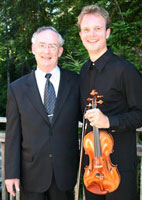 Roy Bogas, piano & Axel Strauss, violin