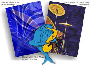 2007 Whale and Jazz Festival Poster Challenge winners