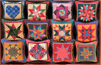 Patchwork Pincushion, with Sally Collins
