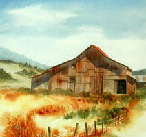 Studio Discovery Tour: Old Barn on Hwy 1