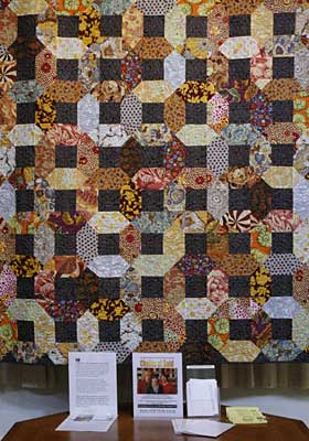 2009 Quilt, Chains of Gold