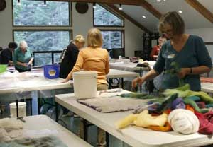 A Weekend of Felting