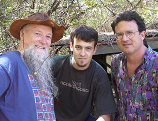 Terry Riley with Gyan Riley and George Brooks