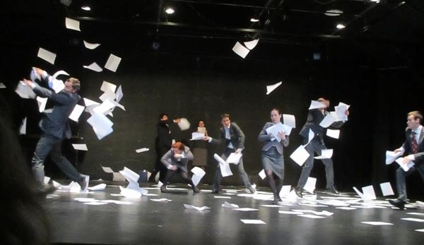 Antidot by Liquid Theater, Gualala Arts Center, April 2012; photo by PT Nunn