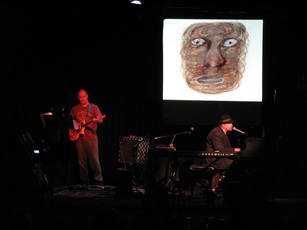 Bob Bralove & Henry Kaiser, Face to Face image by Bob Bralove; photo by Robert Hantzsche