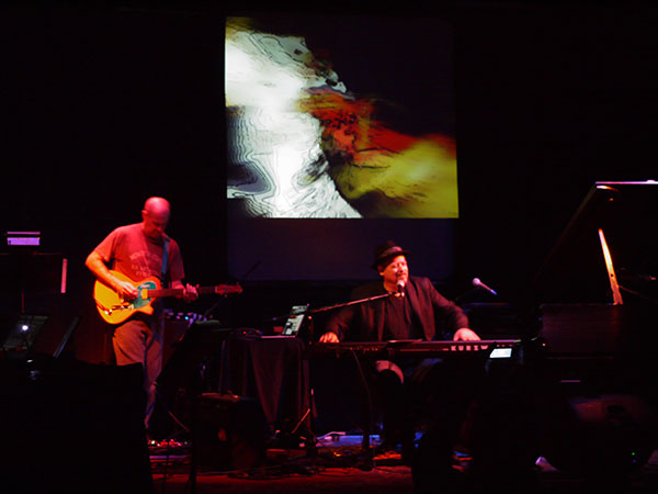 Bob Bralove & Henry Kaiser, video imagery by Hank Putek; photo by PT Nunn