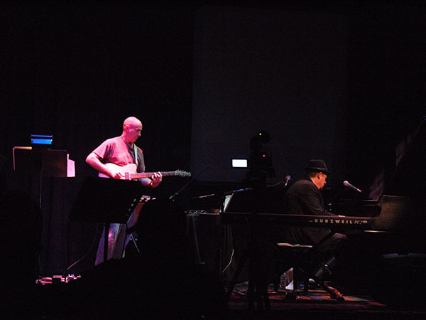Bob Bralove & Henry Kaiser; photo by PT Nunn