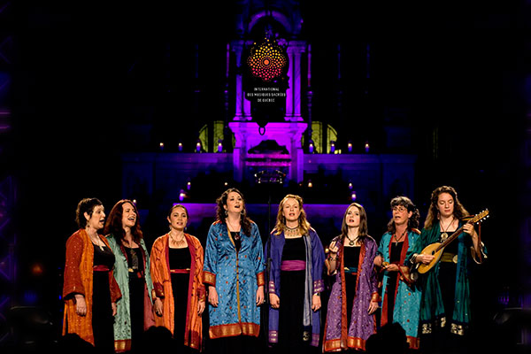 Kitka Women's Vocal Ensemble at the Quebec Sacred Music Festival