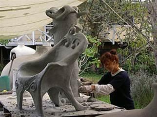 Darjit sculpture