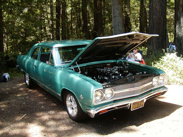 Best of Show: Bill and ML Reinking's 65 Chevelle