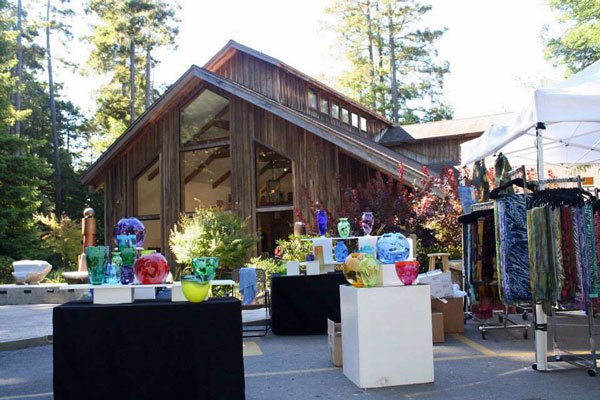 Art in the Redwoods Festival, Gualala Arts Center, August, 2013