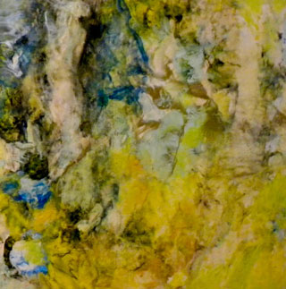 encaustic painting by Larain Matheson