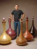 Exotic Wood Vessels, by Robert Gauthier