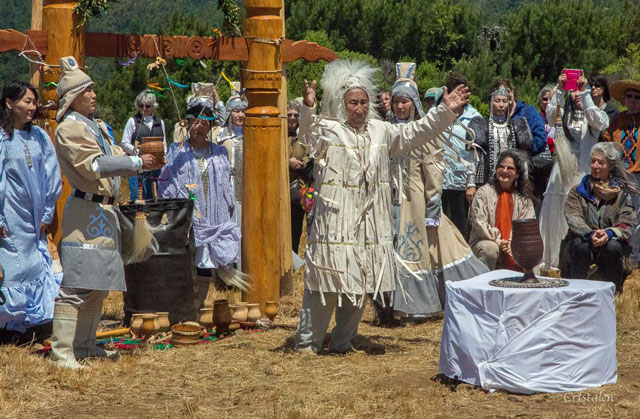 Sakha Cultural Festival, Serge dedication at Gualala Point Regional Park, June, 2014; photo courtesy of Bones Roadhouse