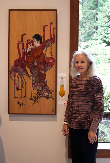 Art in the Redwoods Festival, Gualala Arts Center, August, 2014