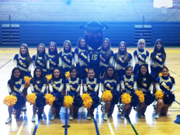 Point Arena High School Cheerleaders