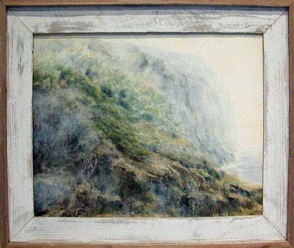 People's Choice Award, Second Place: Mist, Mendocino Coast by Sunny Fransan