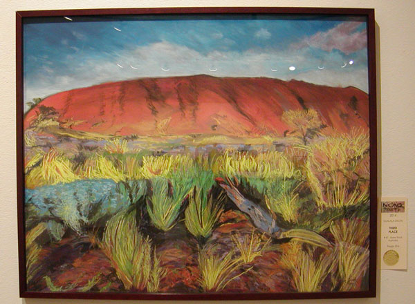 Third Place: Ayers Rock Australia by Peggy Zink