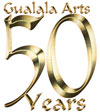 Gualala Arts 50th anniversary logo