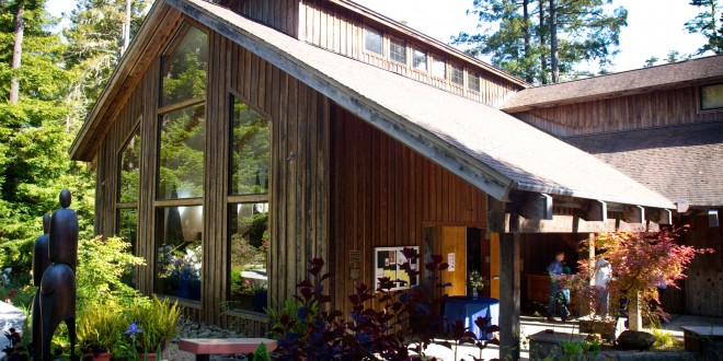 Gualala Arts Center, photo by Rosemarie Lion