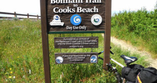 Bonham Trail sign