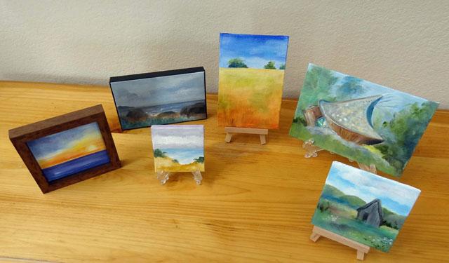Paintings by Joyce George