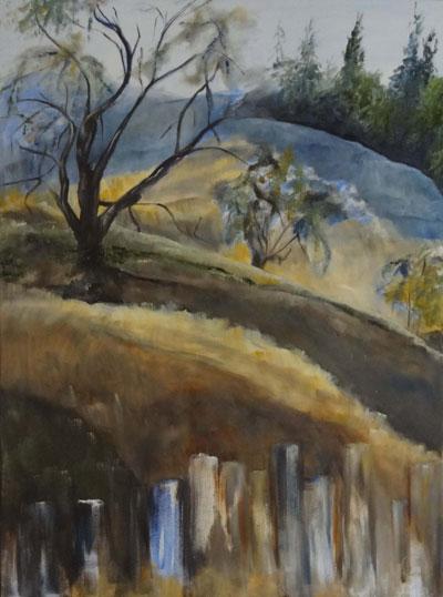 Painting by Joyce George
