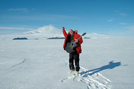 Henry Kaiser in Antarctica