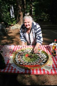 "Laura Leigh (""Sushi Girl"")"