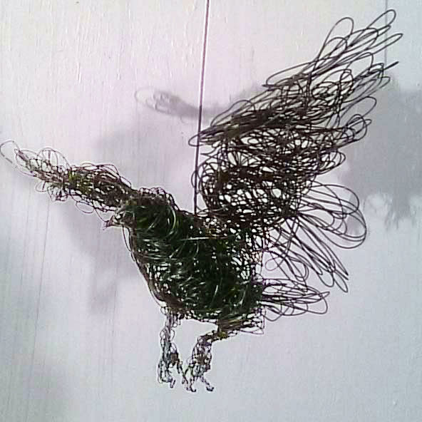 Small Wire Bird, by Jonqui Albin