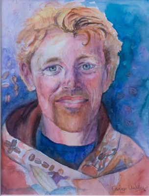Portrait of Patrick Parks, by Patty Bird