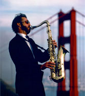 Harrison Goldberg at the Golden Gate Bridge