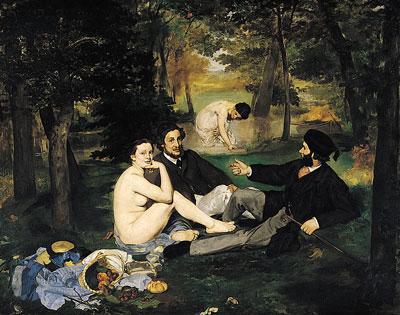 Le Déjeuner sur l'Herbe, by Édouard Manet