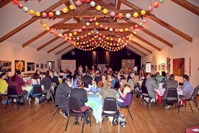 Coleman Hall - wedding dinner