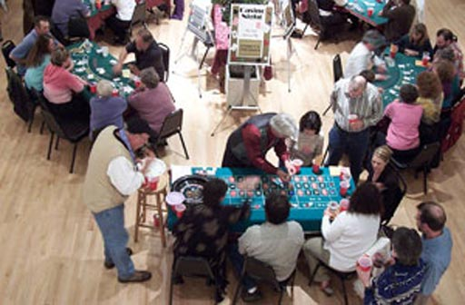 """Casino Night"" - Redwood Coast Recreation Center"