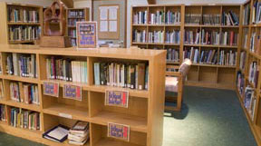 Gualala Arts Library stacks
