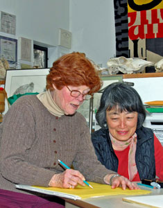 Genevieve (Genny) Wilson teaching