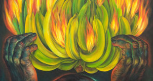 The May Show 2012: First Place: Gorilla, oil on linen, by Heidi Endemann