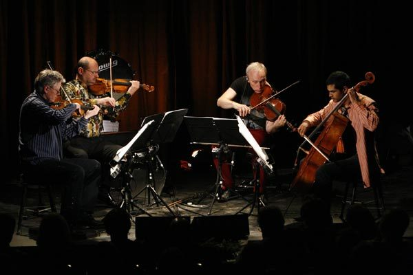 Kronos Quartet at the Art in the Redwoods Festival, 2009