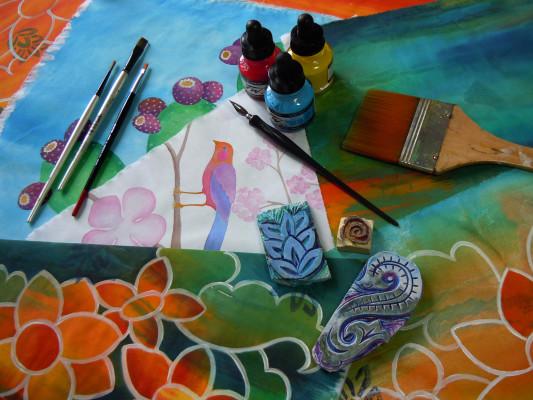 Acrylic Ink, Judy Coates-Perez