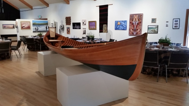 "2015 AIR People's Choice ""Adirondack Guide Boat"" by Larry Nelson"