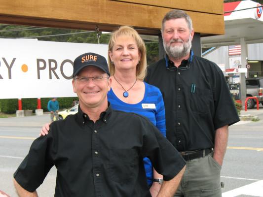 Steve May, Teri Cooper & Alan Oleson