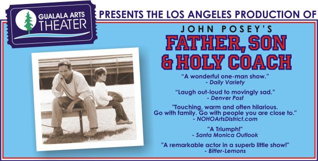 Father Son & Holy Coach Gualala Arts Theater image full