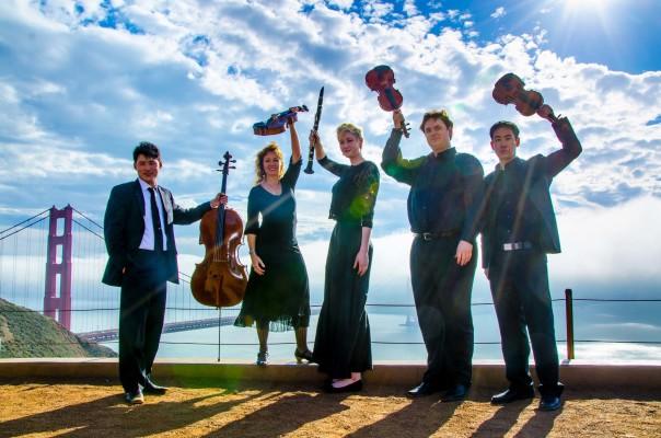Farallon Quintet Oct 2015 Chamber Music Series
