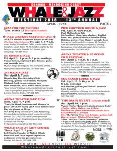 2016 Whale & Jazz Festival