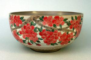carved sakura bowl